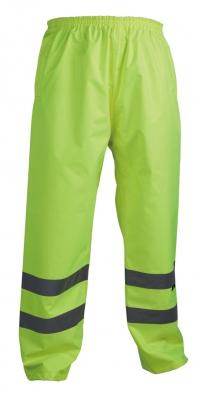 Spodnie ostrzegawcze o intensywnej widzialności, przeciwdeszczowe