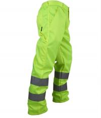 Spodnie robocze ostrzegawcze o intensywnej widzialności