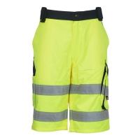 VWTC114YN - Spodnie krótkie BERMUDY, ostrzegawcze o intensywnej widzialności