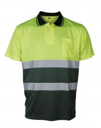 Koszulki polo ostrzegawcze o intensywnej widzialności w kontrastowych kolorach VWPS13.