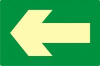 Kierunek drogi ewakuacyjnej AC202