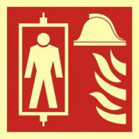 Dźwig dla straży pożarnej